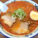めん蔵 - 鉄火味噌らーめん(辛めの味噌味)700円(税込)