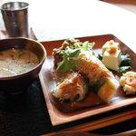 ナイヤビンギ - 前菜とスープ