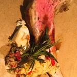フレンチレストラン ソン・スクレ - ラムのグリル