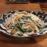 鳥しん - 油ソーメン 700円