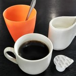 まんぷく亭 - サービスのコーヒー