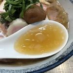 中華そば 四つ葉 - 濃厚冷やし煮干しスープ