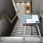 Restaurant  LA FUENTE - 2階へ(エレベーターもあり)