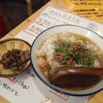 羊肉酒場 悟大 - 〆のラム茶漬け500円全景