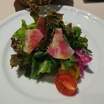 ル・ポワロン - ランチのサラダ