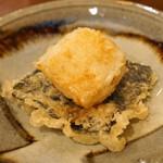 秋田 てんぷら みかわ - 平貝と海苔