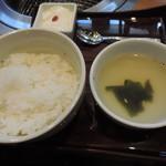 エイジング・ビーフ - 和牛焼肉ランチ②