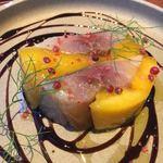 メゾンドムラ - 鯖とマンゴーのテリーヌ980円