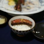 """PENTHOUSE GINZA hanare: - 食欲を刺激する""""ご飯にステーキ"""""""