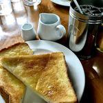 カフェ ド エグロ - モーニング 350円