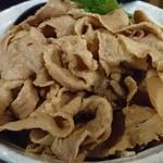 91679491 - 男のまぜ麺+オニク10枚+味タマ♪