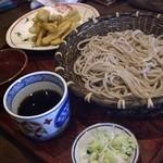 きたわせ - 2010/01 ごぼう天せいろ