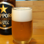 すし兆 - サッポロ ビール 黒ラベル