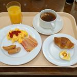 ザ・キャッスル - 今日の朝食 ビュッフェ