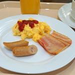 ザ・キャッスル - 朝食 ビュッフェ