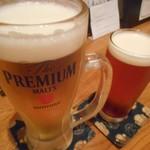山猿 - 生ビール&品川縣ビール