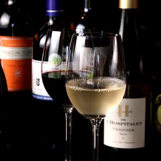 多彩なオーガニックワインを味わえる