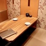 ゆらり - 個室テーブル席