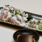 ゆらり - 鶏ささみポン酢