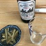 うな丁 - 料理写真:ビール