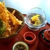 四季五彩 きわ - 料理写真:海老天丼(1,500円)