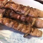 焼き鳥きむら - 一番人気の豚バラ