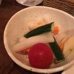 バルンバルン - 「ピクルス」初めて食べたけど、甘ったる過ぎずサッパリとした好みの味加減でした。