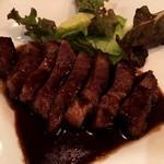バルンバルン - 「イベリコ豚肩ロースのソテー 〜バルサミコソース〜」 豚の甘みと大好きなバルサミコのソースがたまらなく・・・・幸せな美味しさっ!