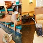 サイゼリヤ - セットドリンクバー(カプチーノ/エスプレッソ/アイスコーヒー)190円