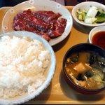 焼肉ジュージュー - 料理写真:和牛ハラミ定食