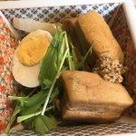 蔵元ごはん&カフェ 酒蔵 櫂 - 豚の角煮