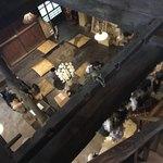 蔵元ごはん&カフェ 酒蔵 櫂 - 階段上がってから下を