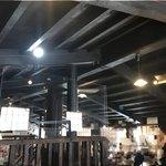 蔵元ごはん&カフェ 酒蔵 櫂 - 2階の天井