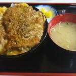 西町食堂 - 料理写真:かつ丼