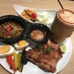 Mangotsurikafe - イサーンプレート
