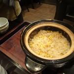 禅紫 - とうもろこし土鍋御飯