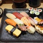 さかなやのmaru寿司 - 特盛りセット