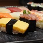さかなやのmaru寿司 - 安いネタばかりな感じ(笑)