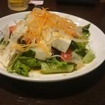 居酒屋 赤べこ - 豆腐サラダ