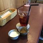 ジャム cafe 可鈴 - 食後のドリンク(アイスティー)