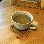ジャム cafe 可鈴 - 【食後のドリンク】クーリー(ホットのハーブティー)
