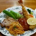 日昇軒 - 料理写真:Cセット(ライス付き)1,400円