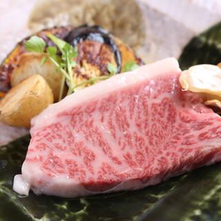 """下村畜産直送の""""黒毛和牛""""を使用◆リーズナブなに本格鉄板料理"""
