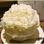 91707015 - 瀬戸内レモンミルク 850円 デカい!美味い♪