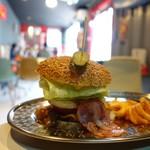 AMERICANS FOOS 80 DINER BIKER'S VINTAGE CAFE -