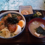 網元の家 さぼてん - 料理写真:サボテン丼