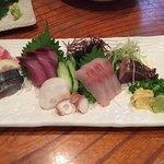 えぼし - 地魚刺6点盛り