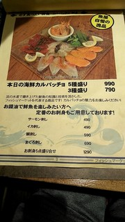 新鮮魚介・浜焼きとワインのお店 Fish Market - メニュー3