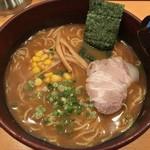 れんげラーメン - サービスセットの味噌