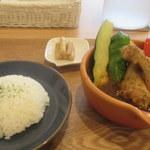 Cray pod soup curry Ohmiya Seiuemon - 手羽元スープカレー